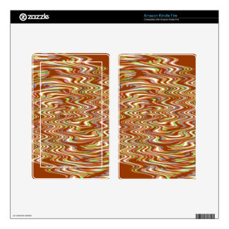 Chocolate Cereal Marshmallow Swirl Pattern Skins For Kindle Fire