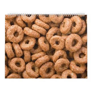 Chocolate cereal rings wall calendars