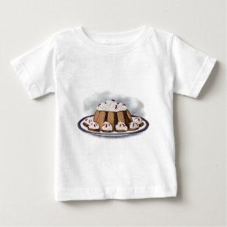 Chocolate Charlotte Russe Vintage Dessert Baby T-Shirt