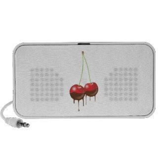 Chocolate cherries travel speakers