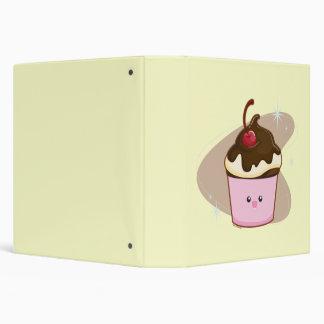 Chocolate Cherry Cupcake Binder