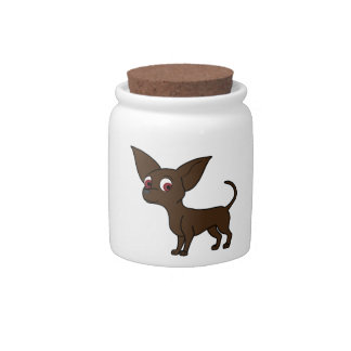 Chocolate Chihuahua Candy Dishes
