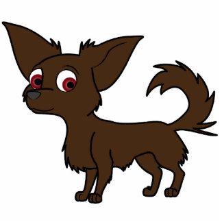 Chocolate Chihuahua Cutout
