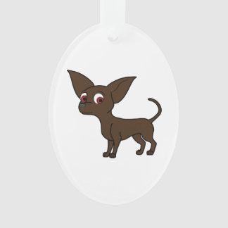 Chocolate Chihuahua Ornament