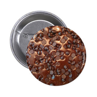 Chocolate Chip Brownies Pinback Button