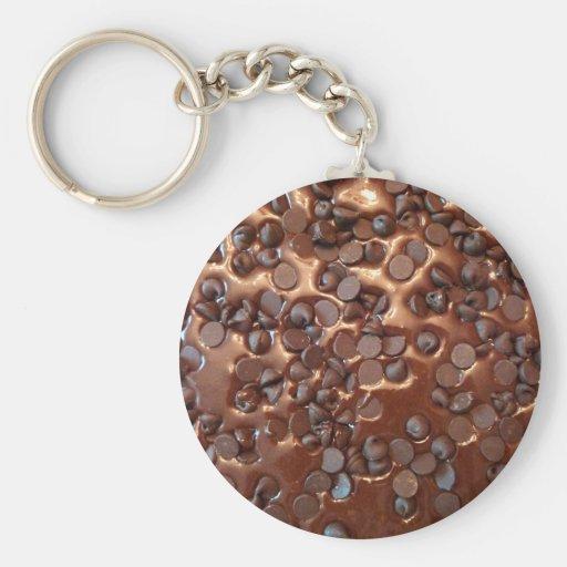 Chocolate Chip Brownies Keychain