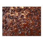 Chocolate Chip Brownies Postcard