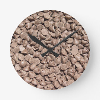 Chocolate Chip Wall Clocks