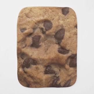 Chocolate Chip Cookie Baby Burp Cloth