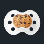 """Chocolate Chip Cookie Baby Pacifier<br><div class=""""desc"""">Chocolate Chip Cookie Baby Pacifier. Super cute gift for a baby shower.</div>"""