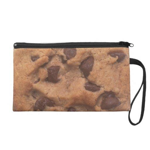 Chocolate Chip Cookie Wristlet