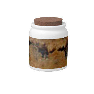 Chocolate chip cookie candy jar home decor