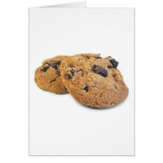 Chocolate Chip Cookie Greeting Card