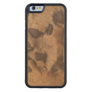 Chocolate Chip Cookie Carved Maple iPhone 6 Bumper Case