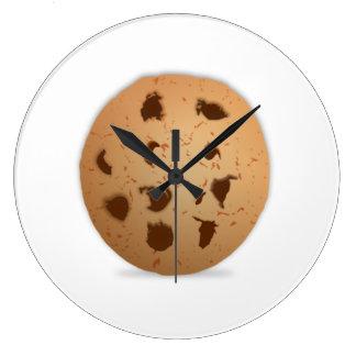 Chocolate Chip Cookie Wall Clocks