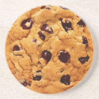 Chocolate Chip Cookie Coaster