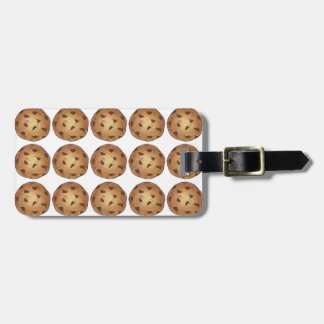 Chocolate Chip Cookie Cookies Personalized Bag Tag