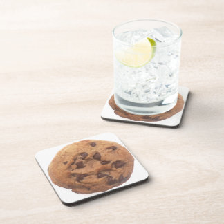Chocolate Chip Cookie Beverage Coaster