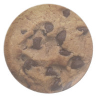 Chocolate Chip Cookie Dinner Plate