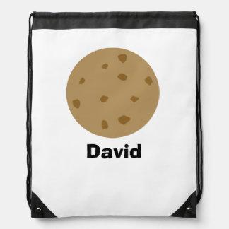 Chocolate Chip Cookie Drawstring Bag