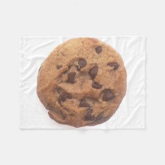 Chocolate Chip Cookie Fleece Blanket