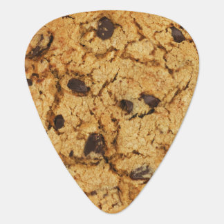 Chocolate Chip Cookie Guitar Pick