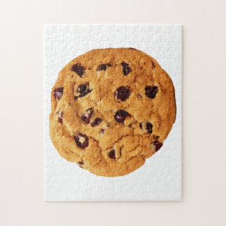 Chocolate Chip Cookie Jigsaw Puzzle
