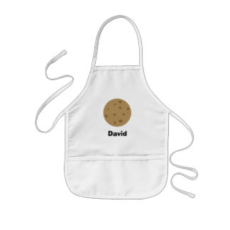 Chocolate Chip Cookie Kids' Apron