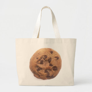 Chocolate Chip Cookie Large Tote Bag