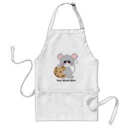 Chocolate chip cookie mouse vendors apron