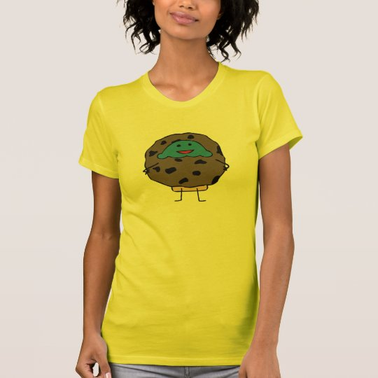 Chocolate Chip Cookie Muffin - Ladies T (Front) T-Shirt