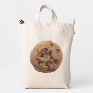 Chocolate Chip Cookie - Muffin On Back Duck Bag