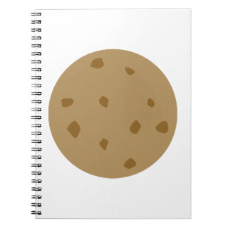 Chocolate Chip Cookie Spiral Notebooks