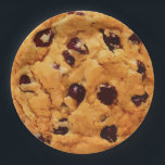 "Chocolate Chip Cookie Paper Plate<br><div class=""desc"">Delicious looking chocolate chip cookie on paper party plates.</div>"