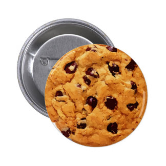 Chocolate Chip Cookie Pinback Button