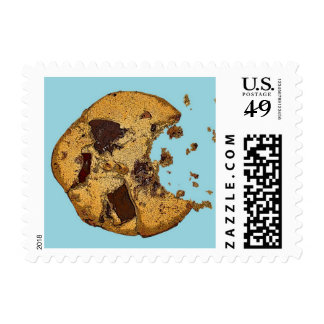 Chocolate Chip Cookie Postage Stamp