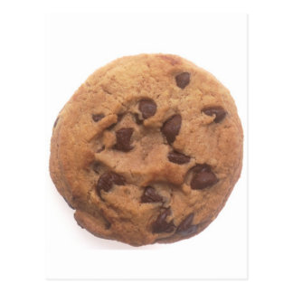 Chocolate Chip Cookie Post Card