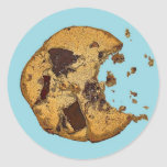 Chocolate Chip Cookie Round Stickers
