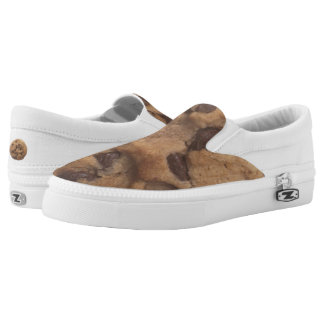 Chocolate Chip Cookie Slip-On Sneakers