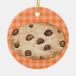 Chocolate Chip Cookie - SRF Ceramic Ornament