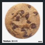 """Chocolate Chip Cookie Wall Sticker<br><div class=""""desc"""">Food - chocolate chip cookie food themed wall decal stickers - ideal for kitchens - restaurants - take outs - cafes even teenagers rooms or dorms and more - from Ricaso</div>"""