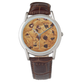 Chocolate Chip Cookie Wrist Watch