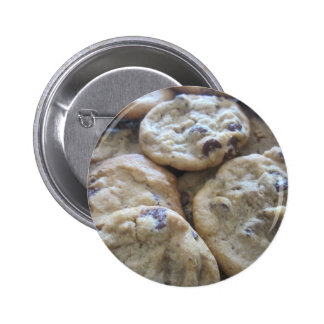 Chocolate Chip Cookies 2 Inch Round Button