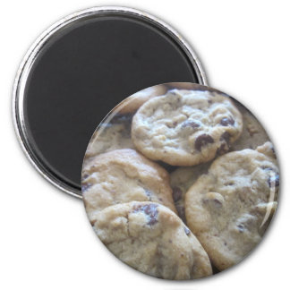 Chocolate Chip Cookies 2 Inch Round Magnet