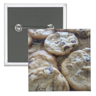 Chocolate Chip Cookies 2 Inch Square Button