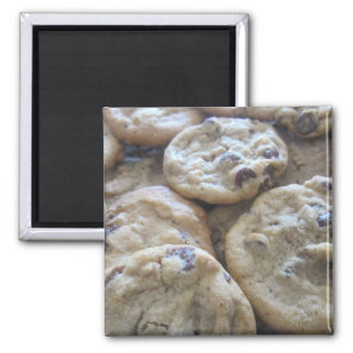 Chocolate Chip Cookies 2 Inch Square Magnet