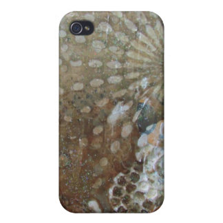 Chocolate Chip Cookies Abstract Art iPhone 4 Covers