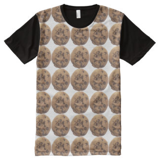 Chocolate Chip Cookies All-Over-Print T-Shirt