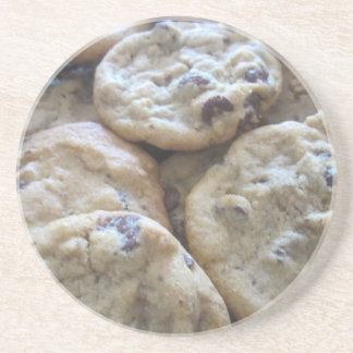 Chocolate Chip Cookies Beverage Coaster