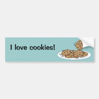 Chocolate Chip Cookies Car Bumper Sticker